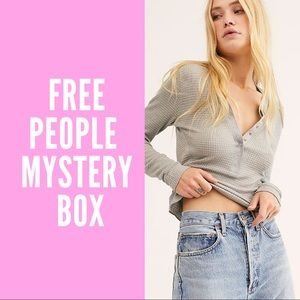 Free People Mystery Reseller Box NWT